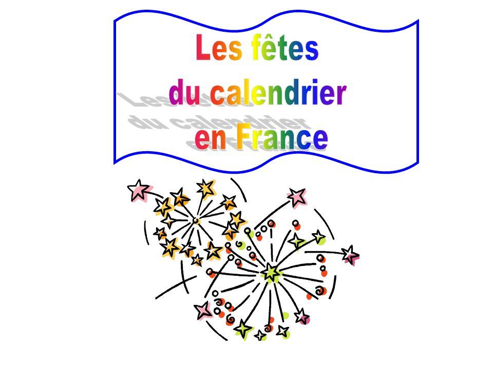 Les fêtes du calendrier en France
