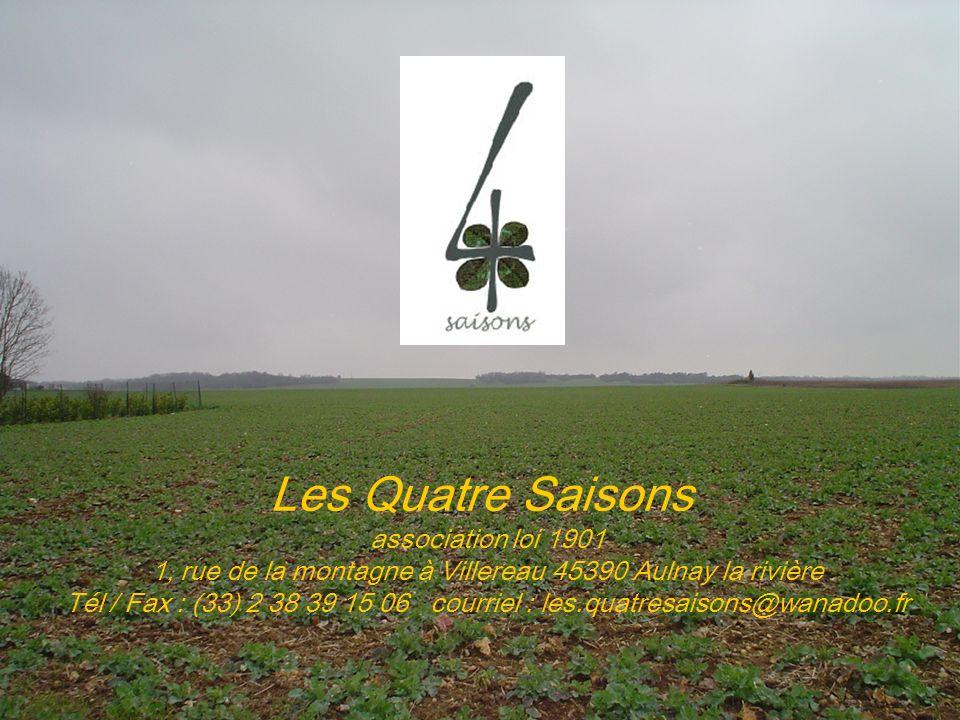 Les Quatre Saisons association loi 1901