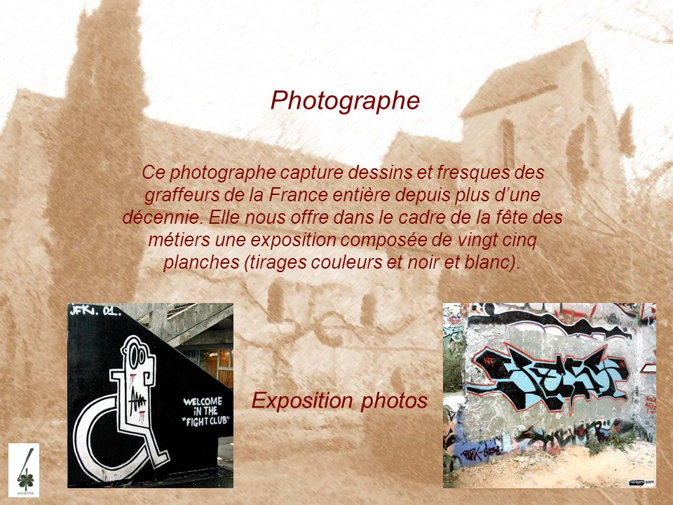 Photographe Exposition photos