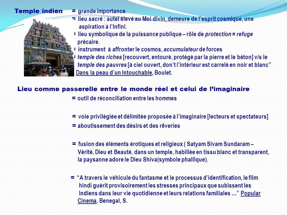 Temple indien. = grande importance
