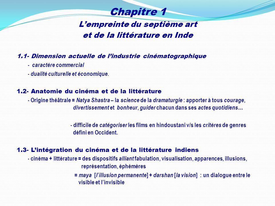 Chapitre 1 L'empreinte du septième art et de la littérature en Inde