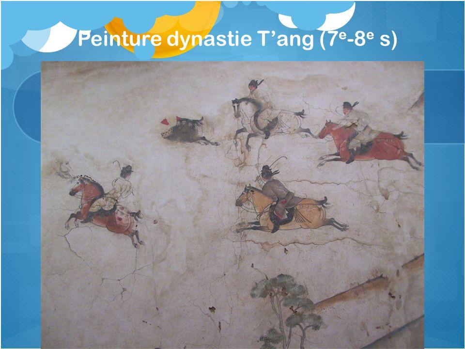Peinture dynastie T'ang (7e-8e s)