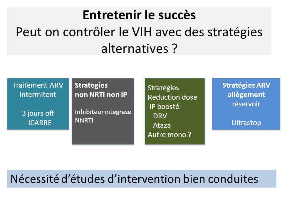 Stratégies ARV allègement