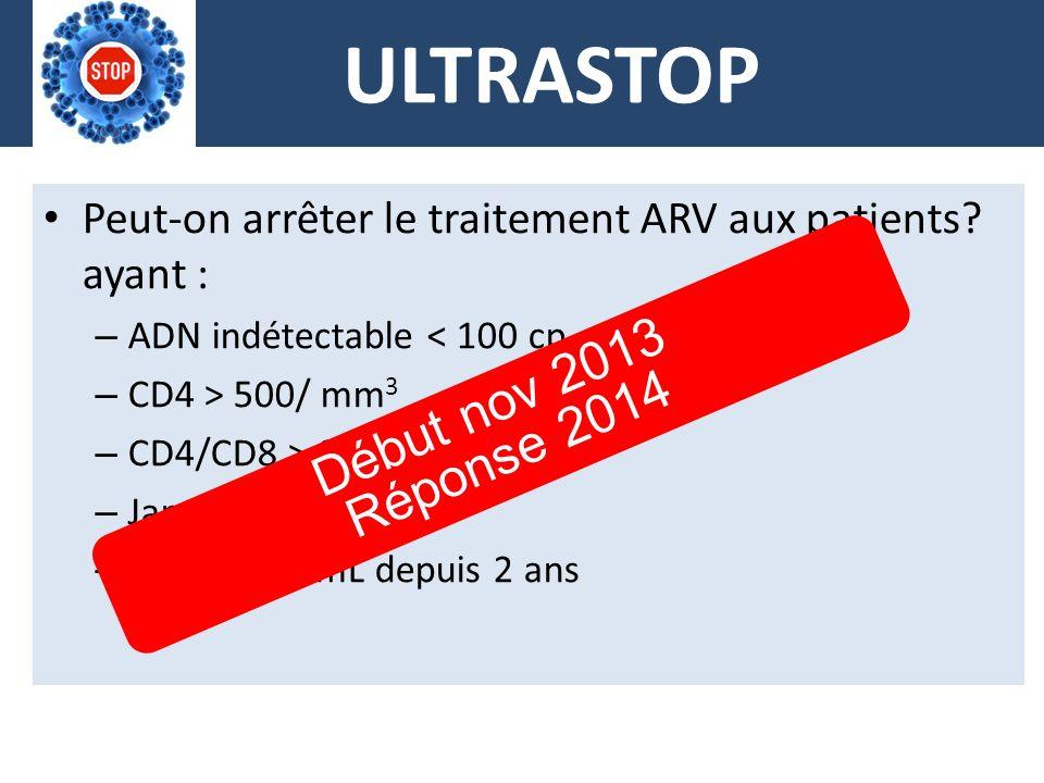 ULTRASTOP Début nov 2013 Réponse 2014