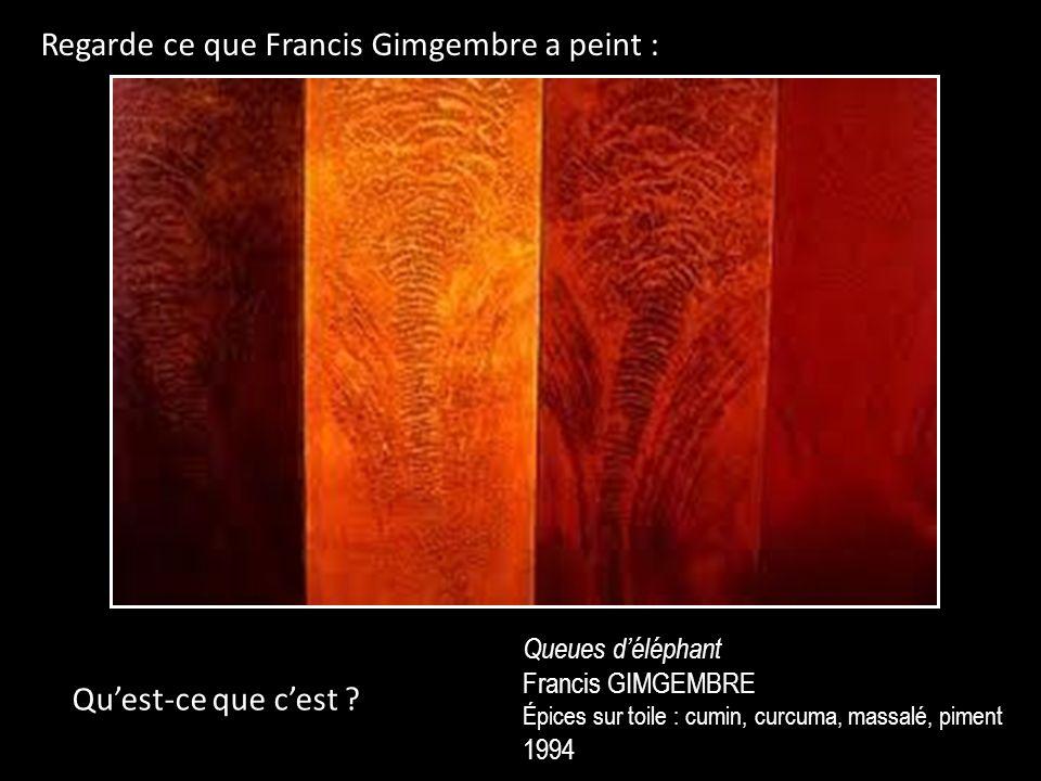 Regarde ce que Francis Gimgembre a peint :