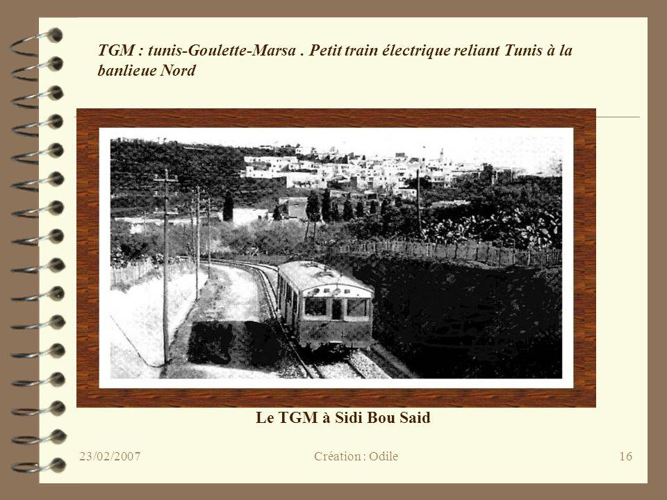 TGM : tunis-Goulette-Marsa