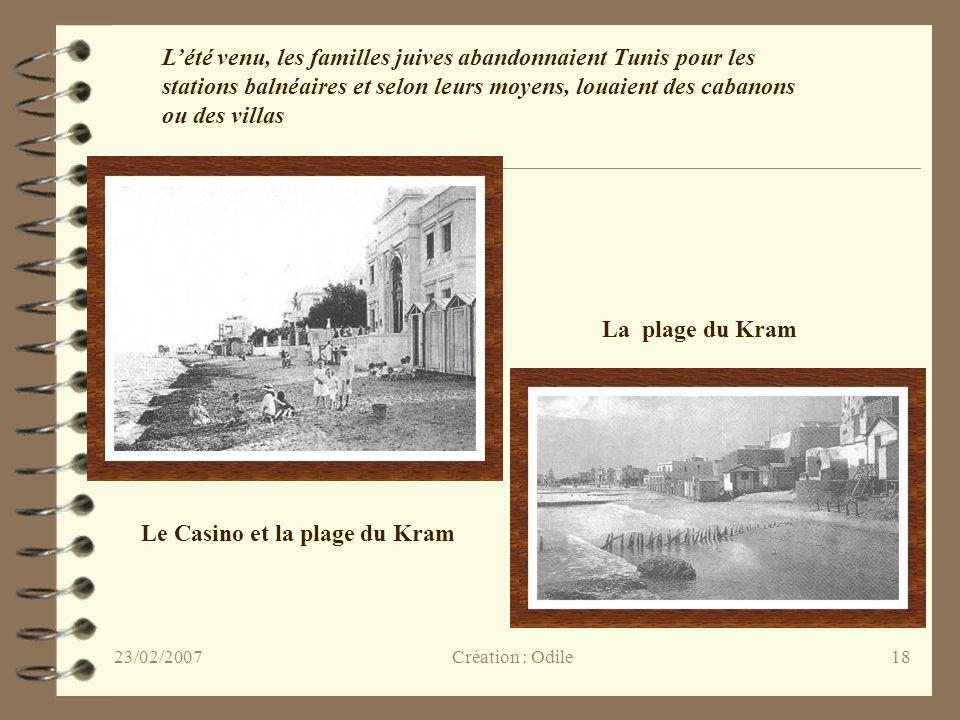 Le Casino et la plage du Kram