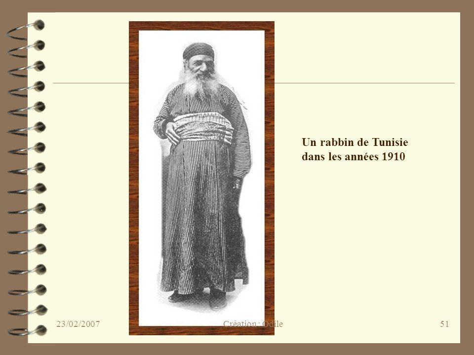 Un rabbin de Tunisie dans les années 1910