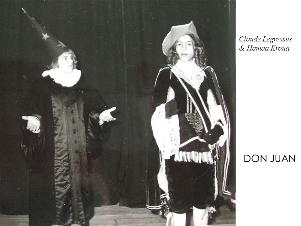 Claude Legressus & Hamaa Kroua