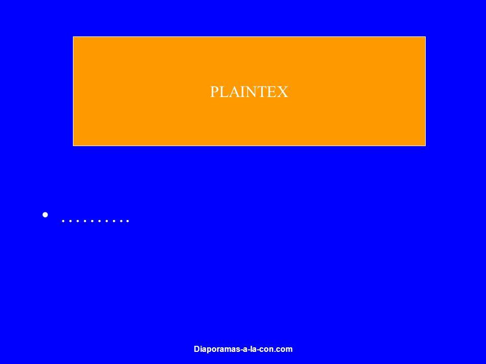PLAINTEX ………. Diaporamas-a-la-con.com