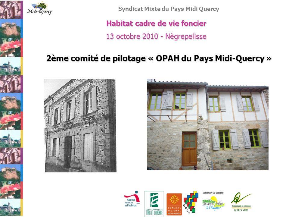 2ème comité de pilotage « OPAH du Pays Midi-Quercy »