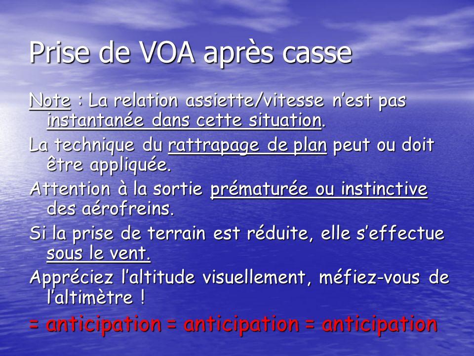 Prise de VOA après casse