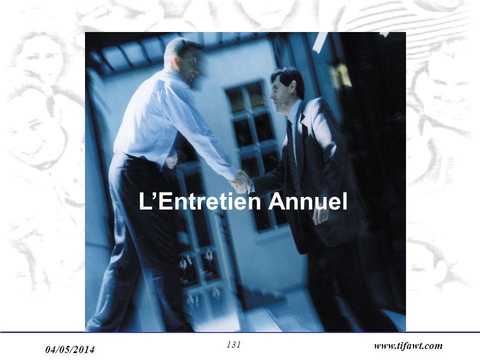 L'Entretien Annuel www.tifawt.com 30/03/2017