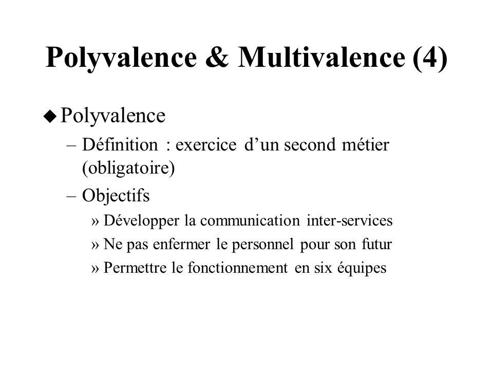 Polyvalence & Multivalence (4)