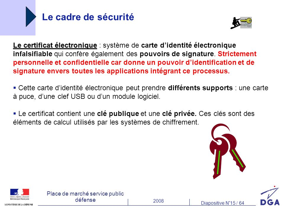 Le cadre de sécurité €