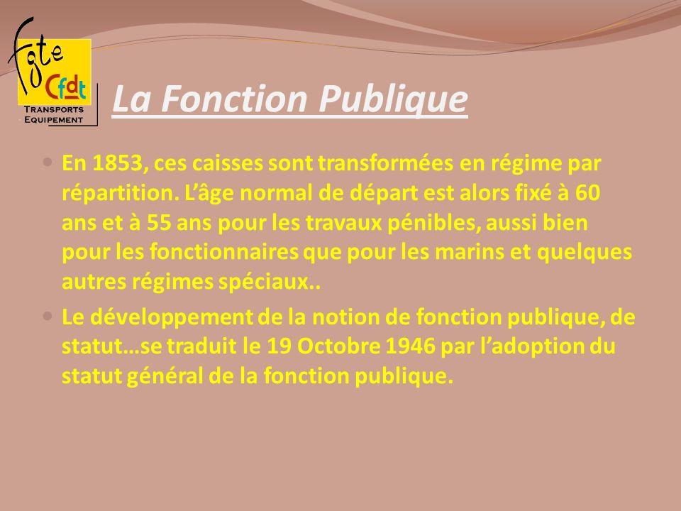 La Fonction Publique