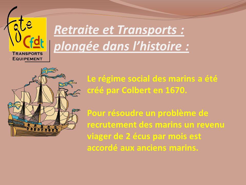 Retraite et Transports : plongée dans l'histoire :