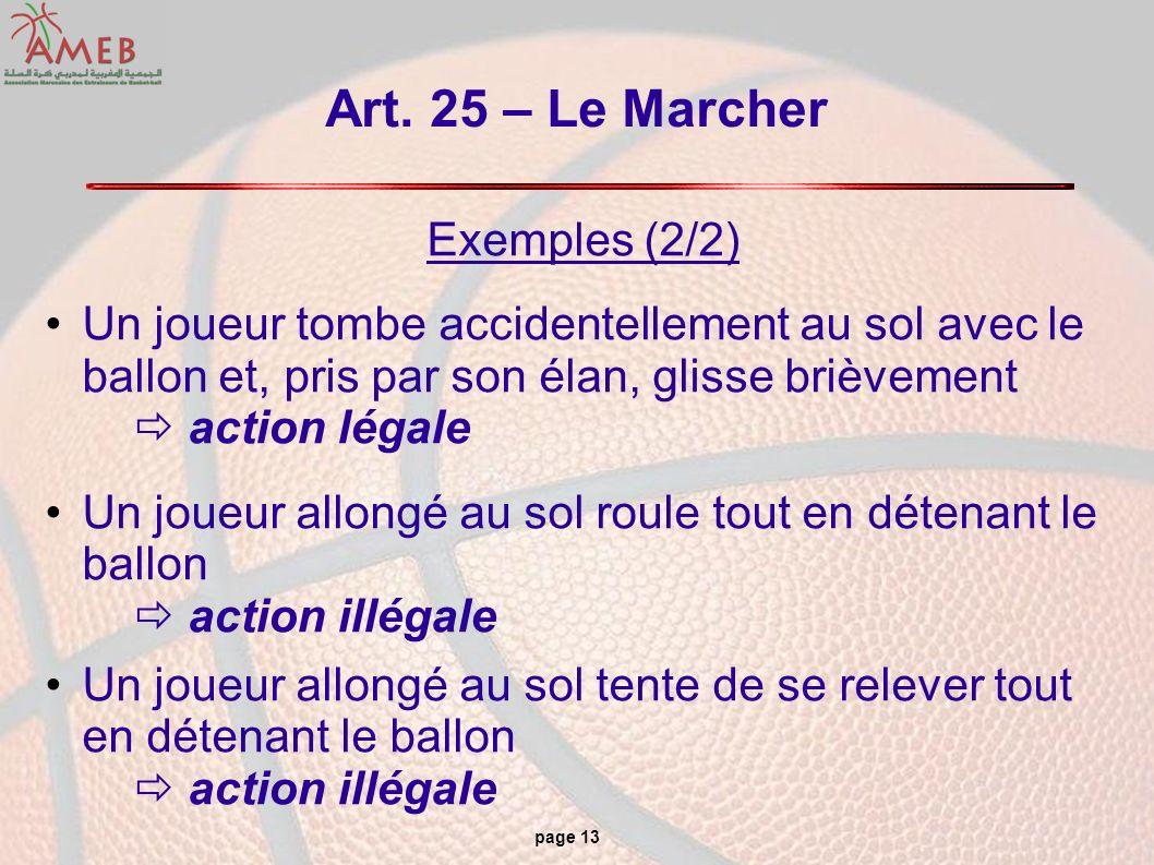 Art. 25 – Le Marcher Exemples (2/2)