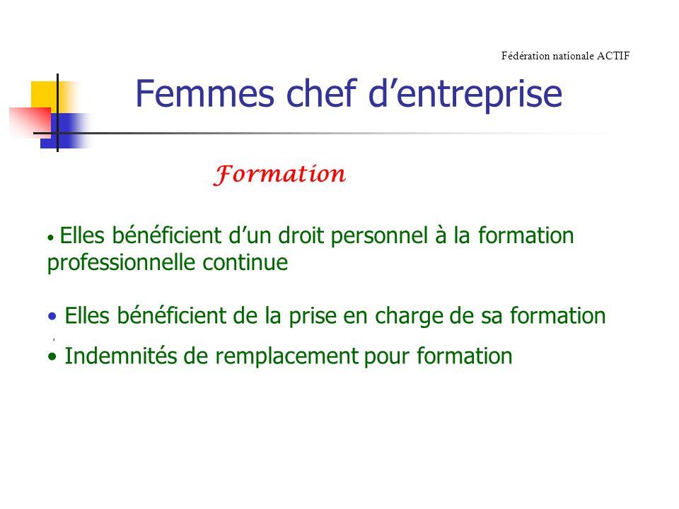 Femmes chef d'entreprise