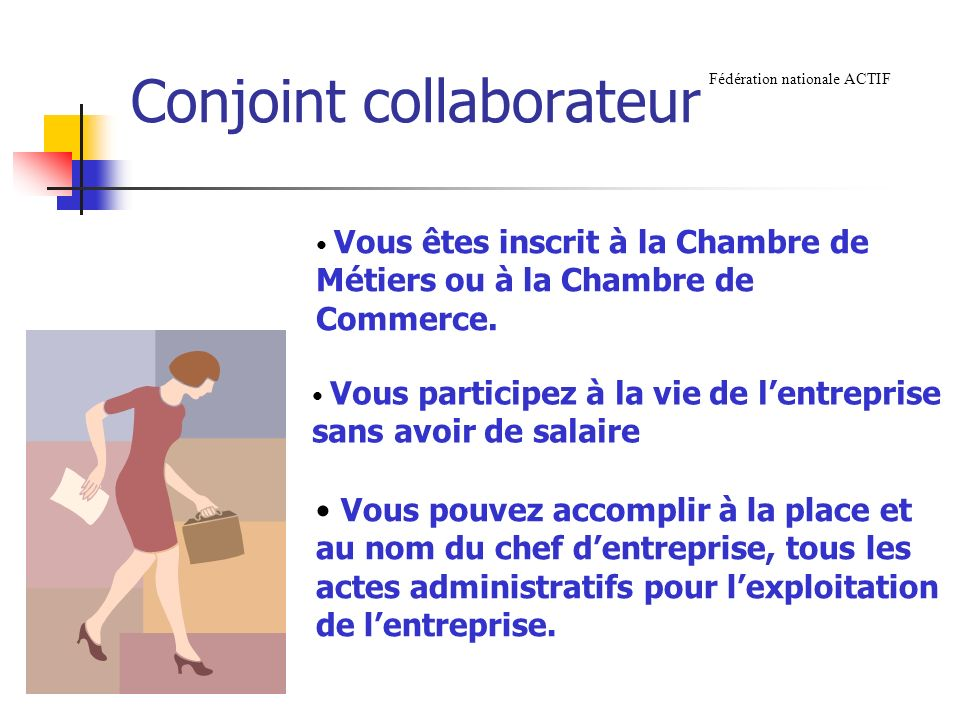 Conjoint collaborateur
