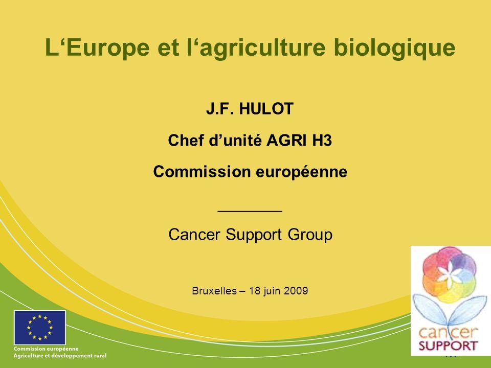 L'Europe et l'agriculture biologique