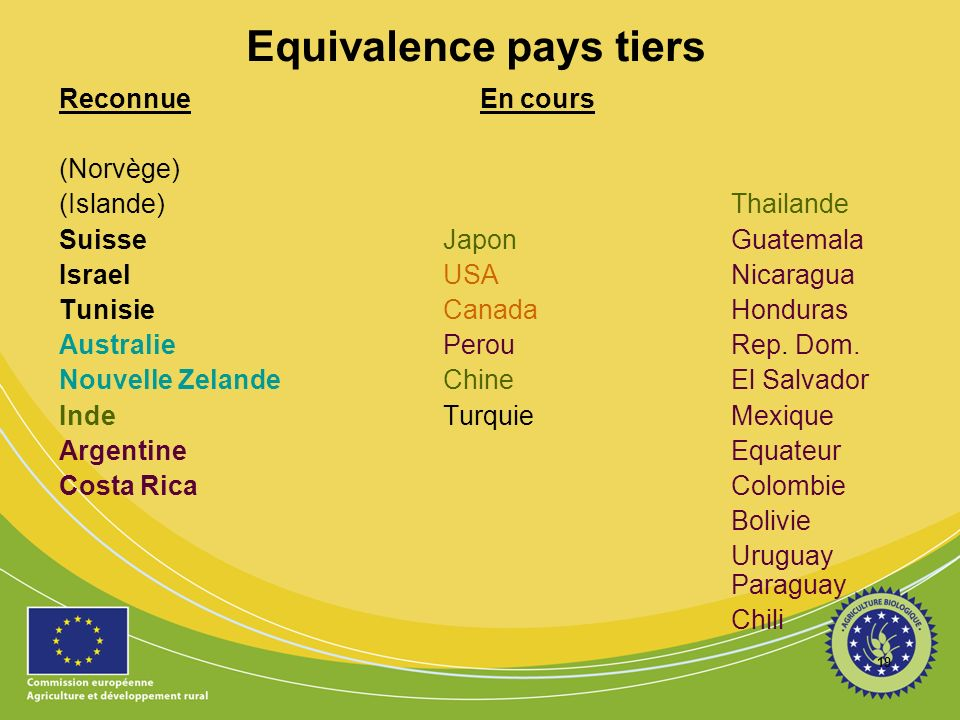 Equivalence pays tiers