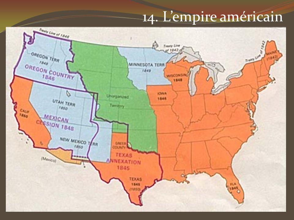 14. L'empire américain