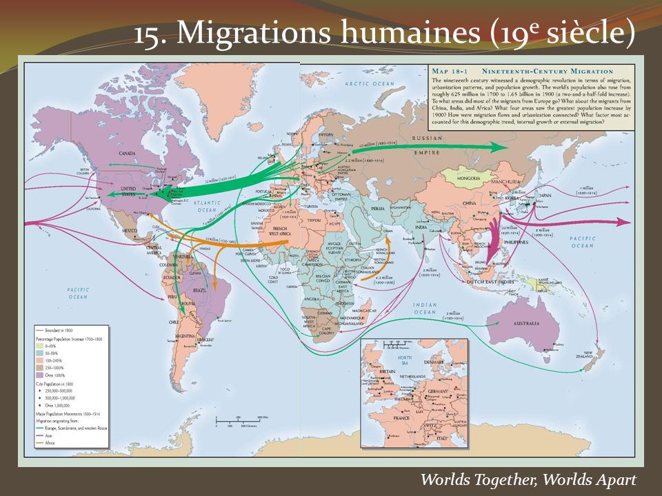 15. Migrations humaines (19e siècle)