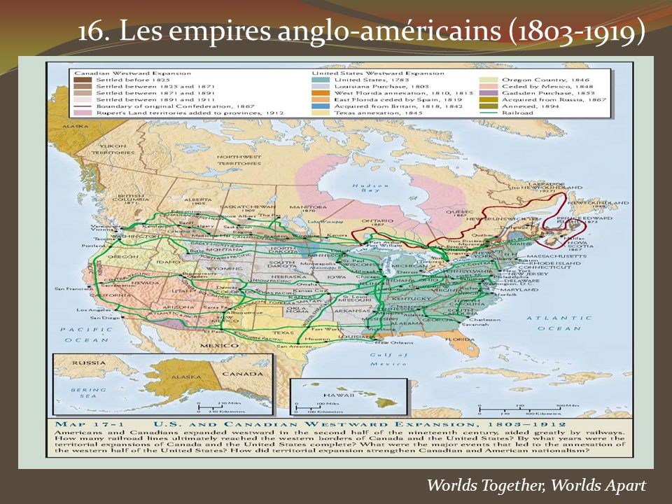 16. Les empires anglo-américains (1803-1919)