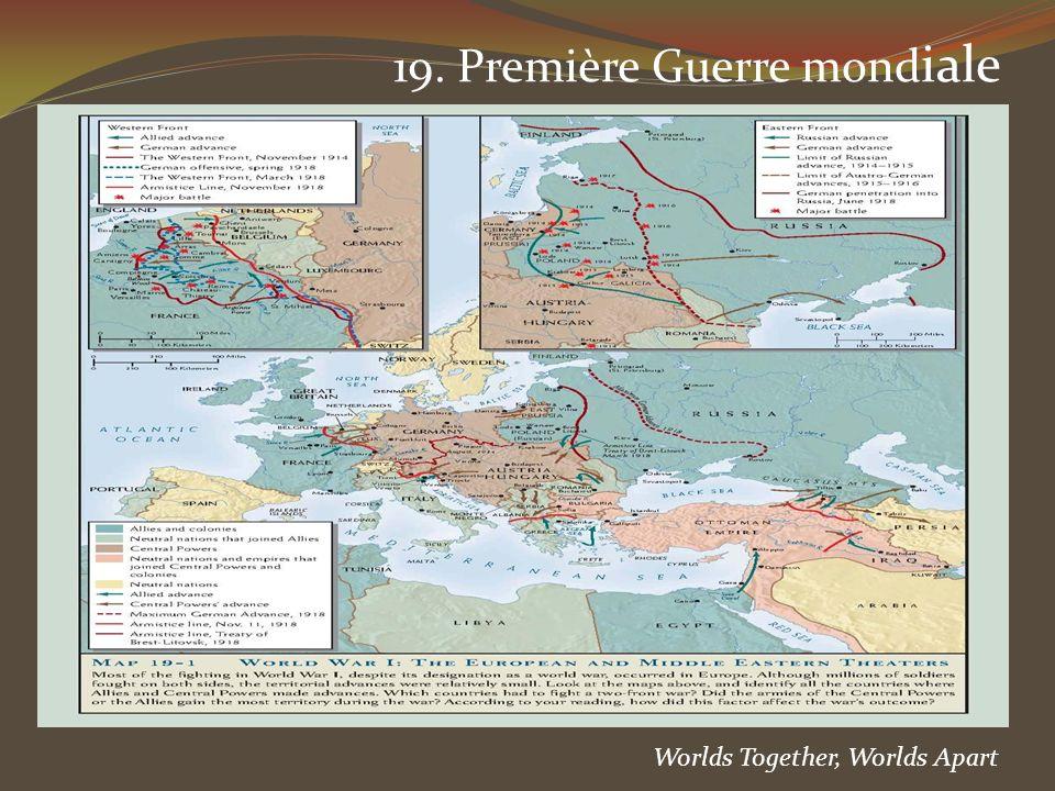 19. Première Guerre mondiale