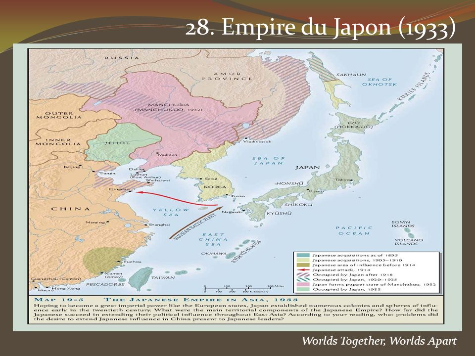28. Empire du Japon (1933) Worlds Together, Worlds Apart