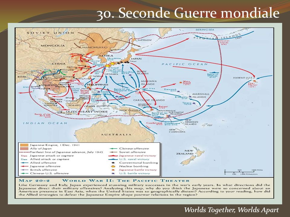 30. Seconde Guerre mondiale