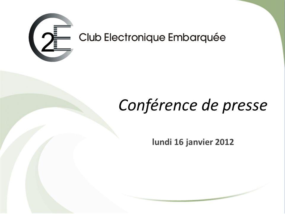 Conférence de presse lundi 16 janvier 2012