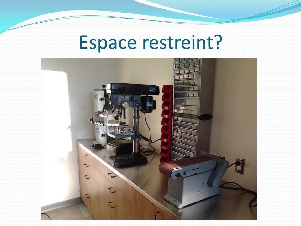 Espace restreint