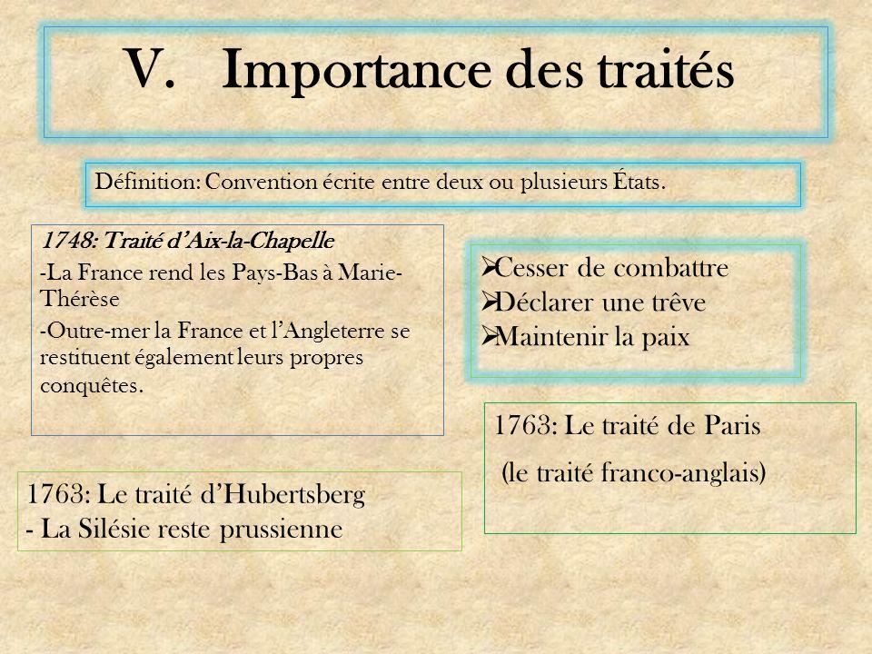 Importance des traités