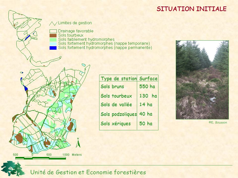 Unité de Gestion et Economie forestières