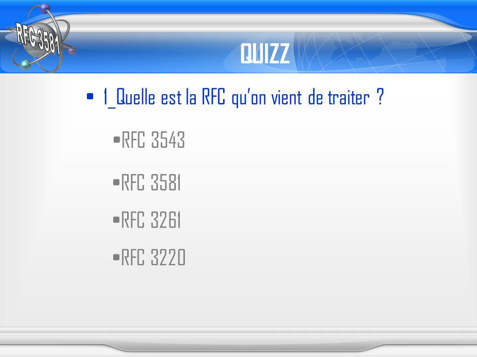 QUIZZ 1_Quelle est la RFC qu'on vient de traiter RFC 3543 RFC 3581