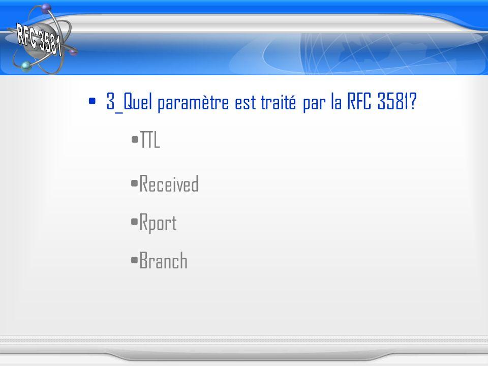 3_Quel paramètre est traité par la RFC 3581