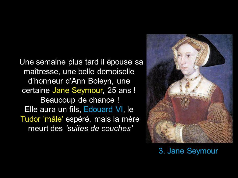 certaine Jane Seymour, 25 ans ! Beaucoup de chance !