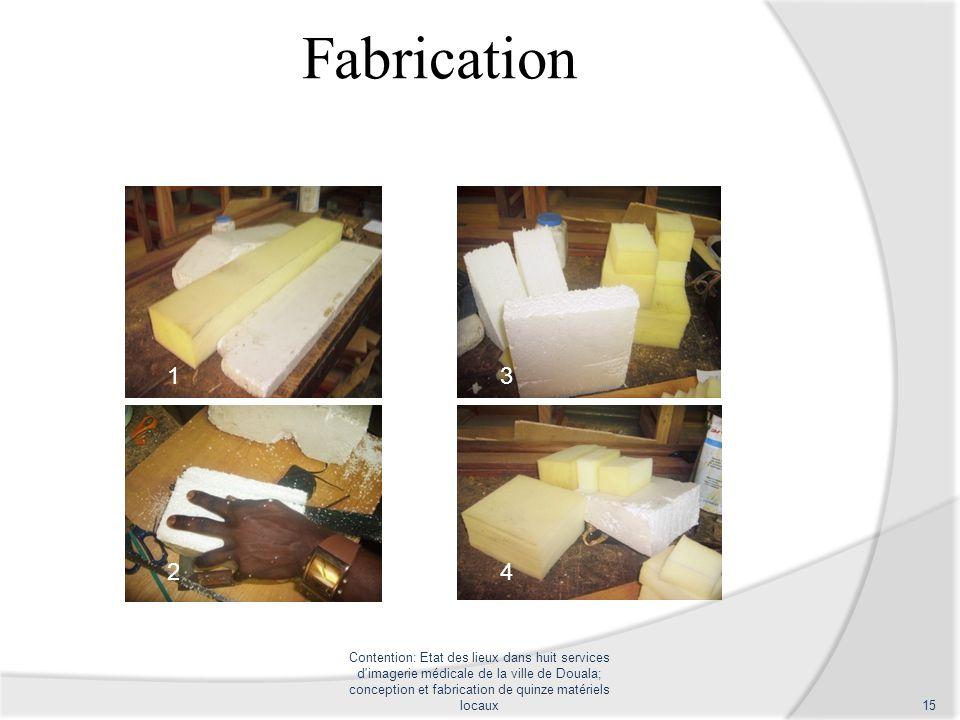 Fabrication 1. 3. 2. 4.