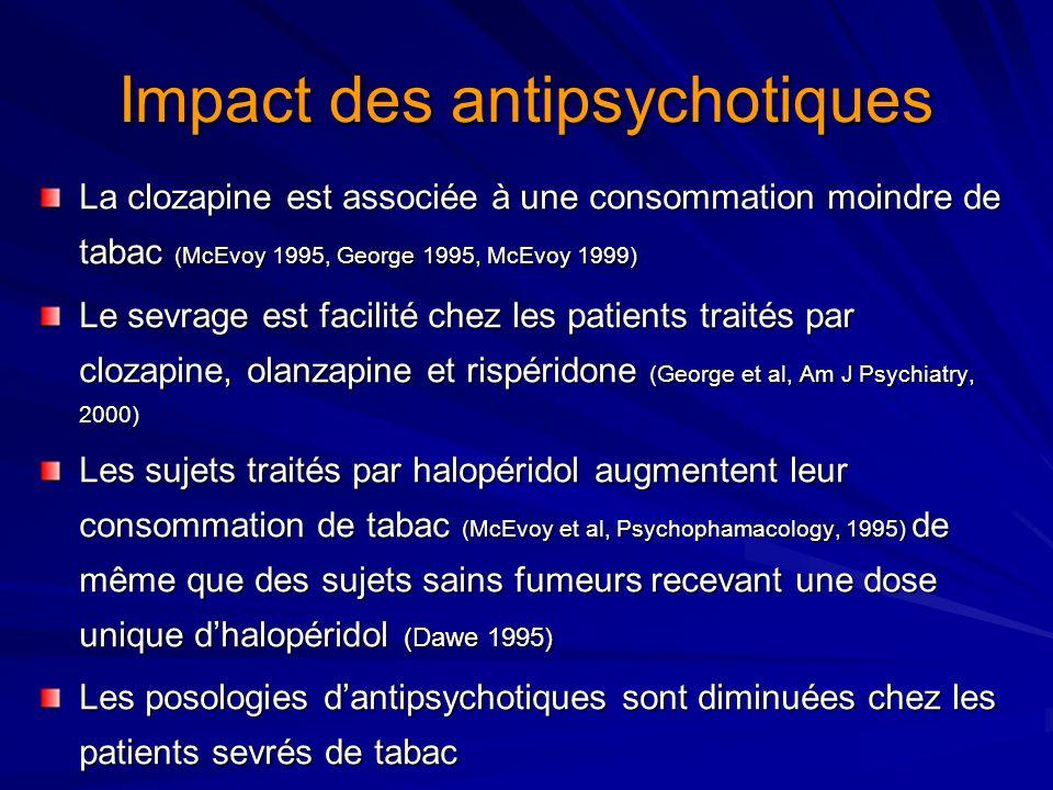 Impact des antipsychotiques