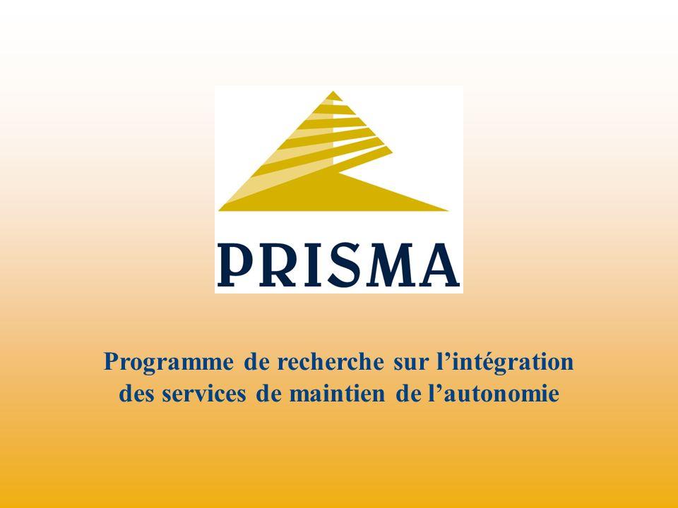Programme de recherche sur l'intégration des services de maintien de l'autonomie
