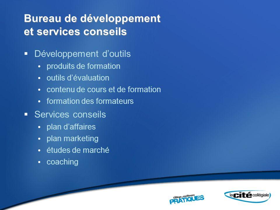 Bureau de développement et services conseils