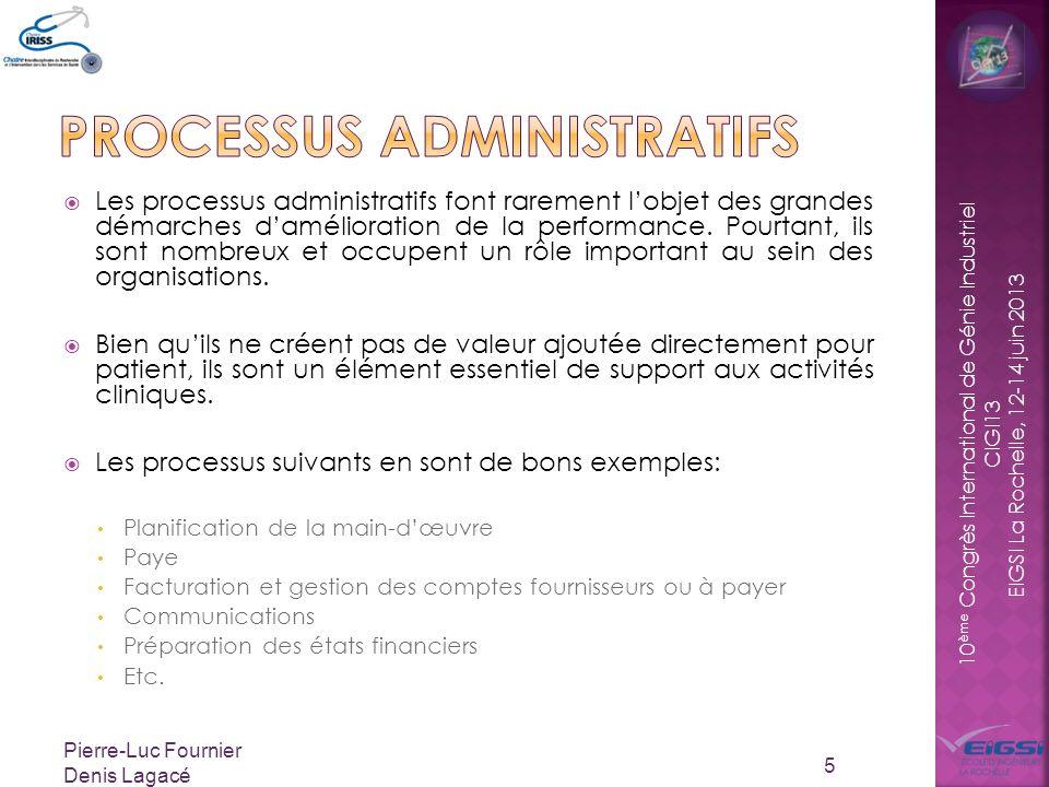 Processus administratifs