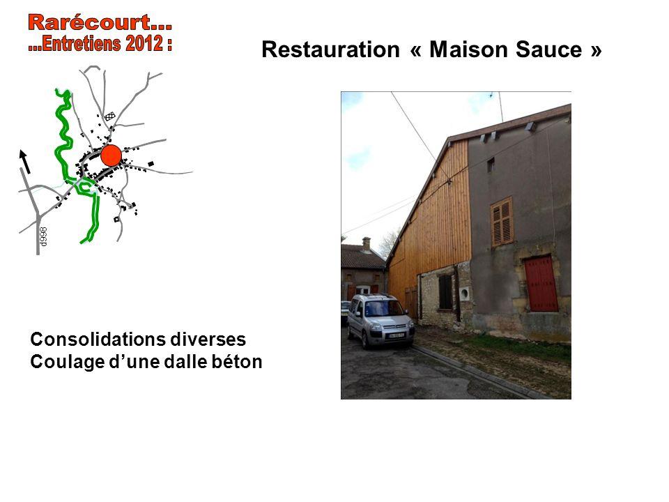 Restauration « Maison Sauce »