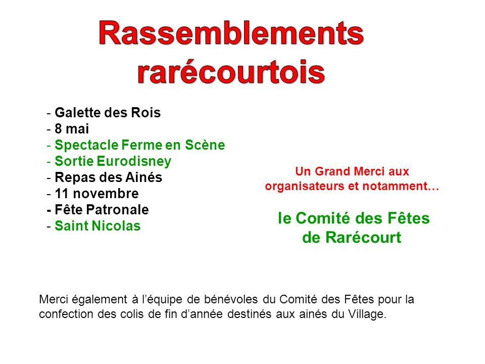 Rassemblements rarécourtois