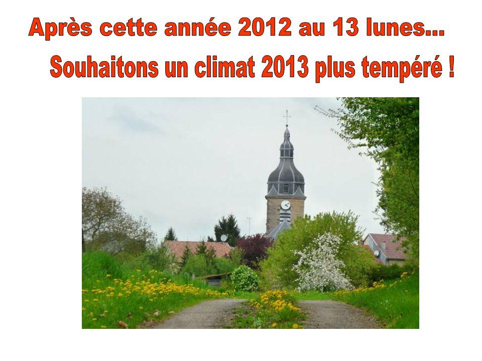 Après cette année 2012 au 13 lunes...