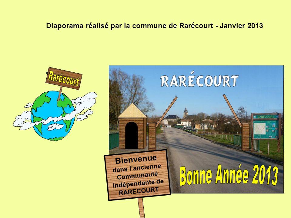 Diaporama réalisé par la commune de Rarécourt - Janvier 2013