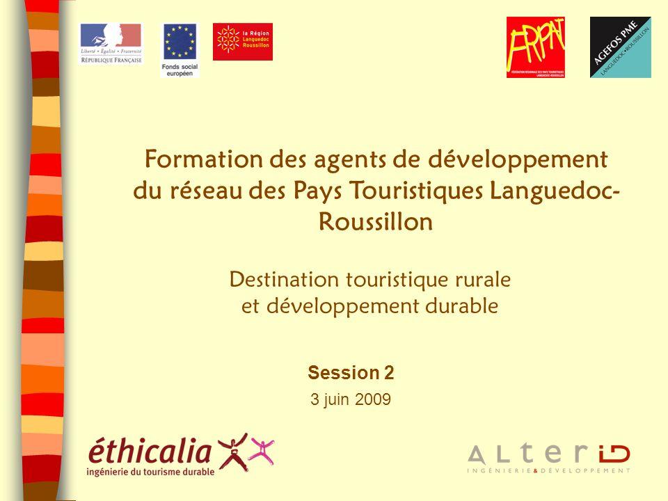 Formation des agents de développement du réseau des Pays Touristiques Languedoc-Roussillon