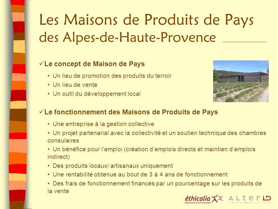 Les Maisons de Produits de Pays des Alpes-de-Haute-Provence